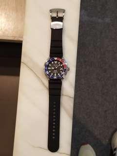 Seiko Prospex PADI SRPC41J1 Automatic 4r35 Mini Turtle Pepsi Diver Watch 200m