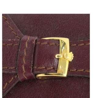 ROLEX Vintage Leather Notepad with Parker Pen - Submariner Daytona Explorer