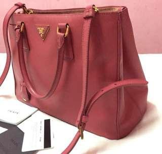 Prada Bag Milano Saffiano Lux