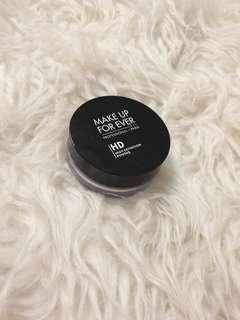 Makeup forever setting powder