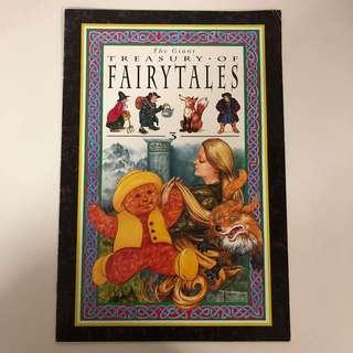 The Giant Treasury of Fairy Tales ( Big Book )