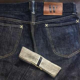 WAREHOUSE - 日牛 W33 Lee Jeans LVC RRL TAKE5 Workware Indigo