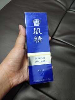 KOSE 雪肌精乳液 140ml (Emulsion Enriched(醫藥部外品))