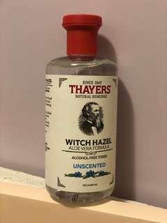 爽膚水 Thayers ( 無香味 )