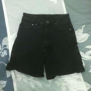 H&M High Rise Denim Shorts