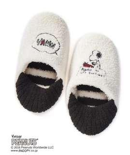 🚚 Relax 妮歌小鋪-一中店 日本連線 ~ 預購 ~ 日系專櫃品牌 gelato pique x snoopy 聯名款 室內拖鞋