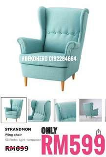 IKEA Strandmon Wingchair TURQUOISE