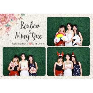 BEST PRICE!!! Wedding Photo Booth / Birthday Party Photo Booth / Photographer / Company Event Photo Booth / D&D Photo Booth