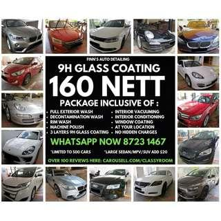Promotion for car grooming - coating services - Limited slot! PM or whatsapp 87231467 Now