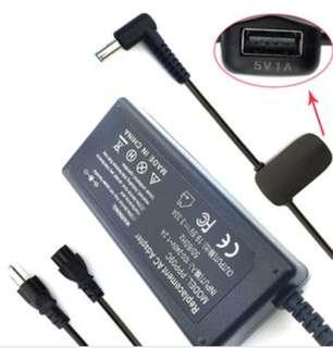 Siker laptop ac adapter + USB Port