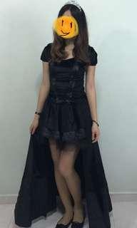 🚚 Halloween Witch Black Queen Costume