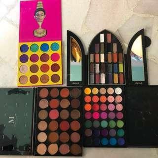 🚚 eyeshadow palette bundle [branded]