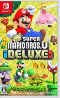 Mario Deluxe Switch (99%new)
