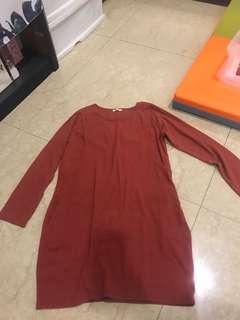 🚚 甩蔥出清-ailian 長版哺乳衣(側掀)