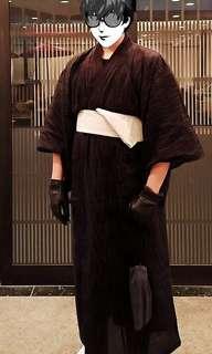 Japanese Samurai Yukata Kimono (5 Items Included)