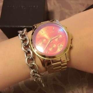 MK 變色限量三眼防水手錶
