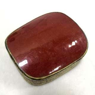 Qing Dynasty Red Porcelain Storage Box 清代祭红瓷片收纳盒 (A)