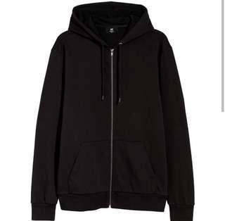 Zipper Hoodie basic by H&M