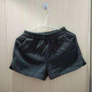 🚚 毛呢短褲