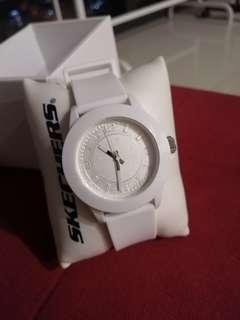 White Skechers Watch
