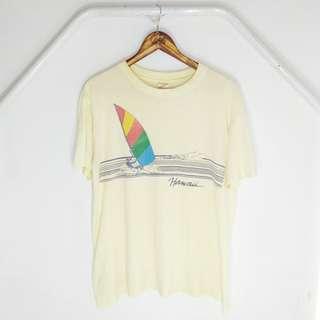 Vintage Hawaii 80s Poly tees