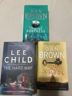 英文小說 LEE Child Dan Brown