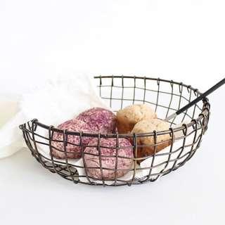 🚚 Metal Fruit Bowl Basket