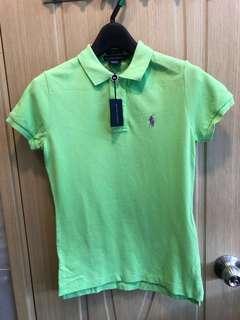 Ralph Lauren light green Polo 全新淺綠