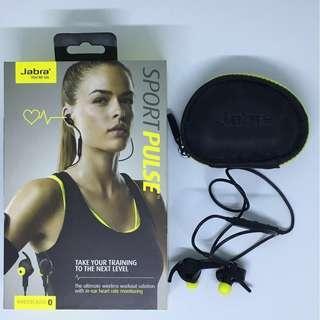 🚚 Used Jabra Sport Pulse Bluetooth Wireless Earphones
