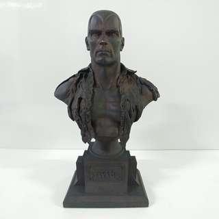 Doc Savage Bust / Statue (1992) The Man of Bronze - sculpted by Randy Bowen, Limited Edition 412/523 - Graphitti Designs *** VERY RARE! ***