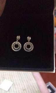 Pandora Circle Drop Earrings