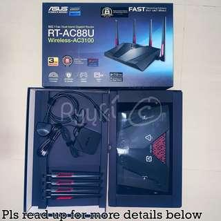 Asus RT-AC88U Wireless-AC3100 Dual-Band Gigabit Router