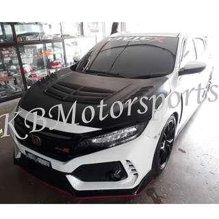 Honda Civic FC TypeR Full Bodykits With Color