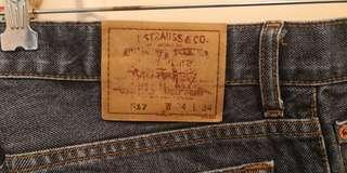 LEVI #517 Bootcut Jean