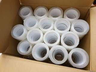 🚚 [雙畇媽咪]全新 現貨 包貨神奇 60碼 無聲膠帶 一組2卷