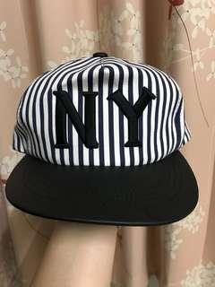 NY 帽 線條 New York 刺繡