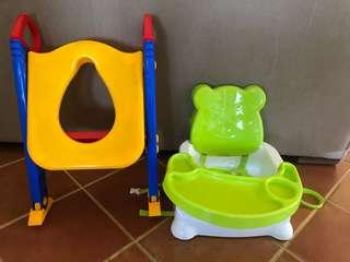 Toddler booster & training Seat