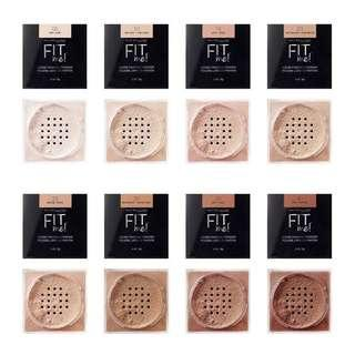 (all shades) maybelline fit me loose powder