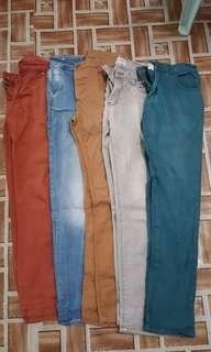 Men long pants size 31