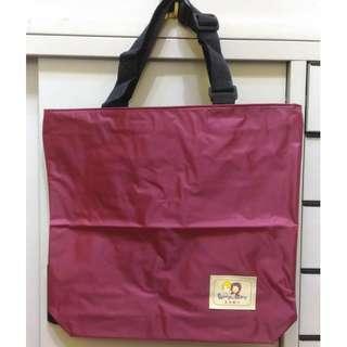 🚚 酒紅色環保袋 購物袋 提袋