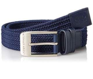 Under Armour Golf Men's Braided Belt 超彈性高爾夫球腰帶- Navy 深藍色 Size 34