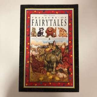 The Giant Treasury of Fairytales (Big Book)