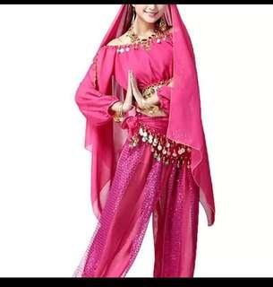 🚚 Bollywood india belly dance costume