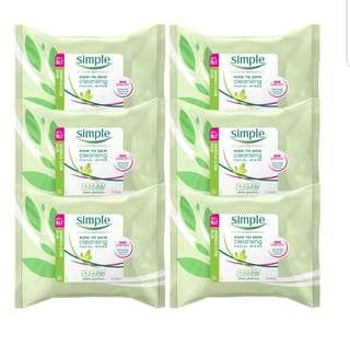 BN Simple cleaning wipes