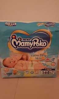 🚚 BNIP Mamy Poko Diapers - S
