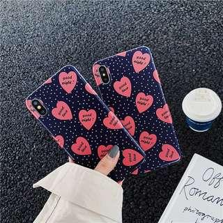 🚚 PO: Hearts All Over Phone Casing