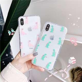 🚚 PO: Cute Dinosaur Phone Casing