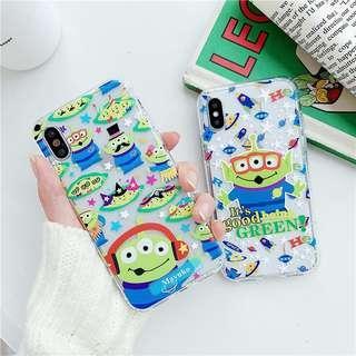 🚚 PO: Little Green Man Phone Casing