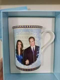 THE ROYAL WEDDING Commemorative porcelain mug