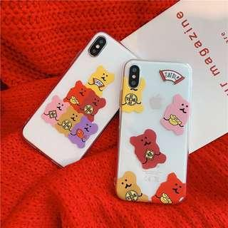 🚚 PO: Fortune Bears Phone Casing
